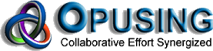 Opusing logo